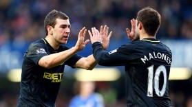 James McArthur and Shaun Maloney