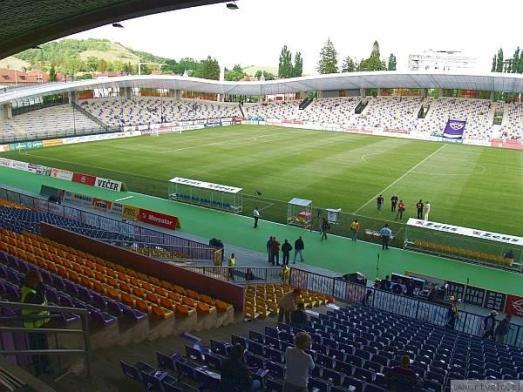 The Ljudskivrt Stadium in, Maribor