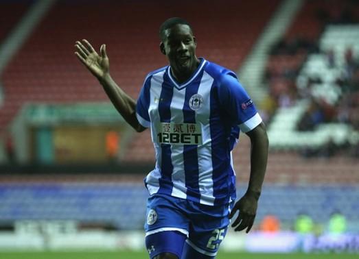 Leon Barnett celebrates his goal