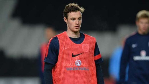 Will Keane could make his debut today against Derby County.  Thanks to the FA for photo.