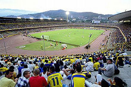 The Pascual Guerrero Stadium, Cali, was the home ground for both America and Deportivo Cali.