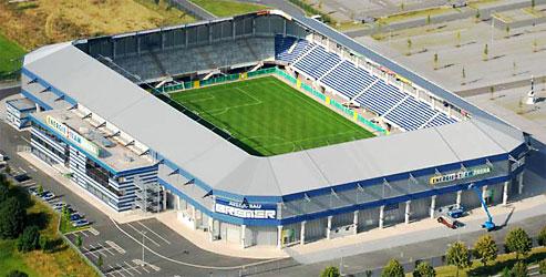 The Benteler Arena, Paderborn.